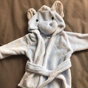 Baby hooded Elephant robe